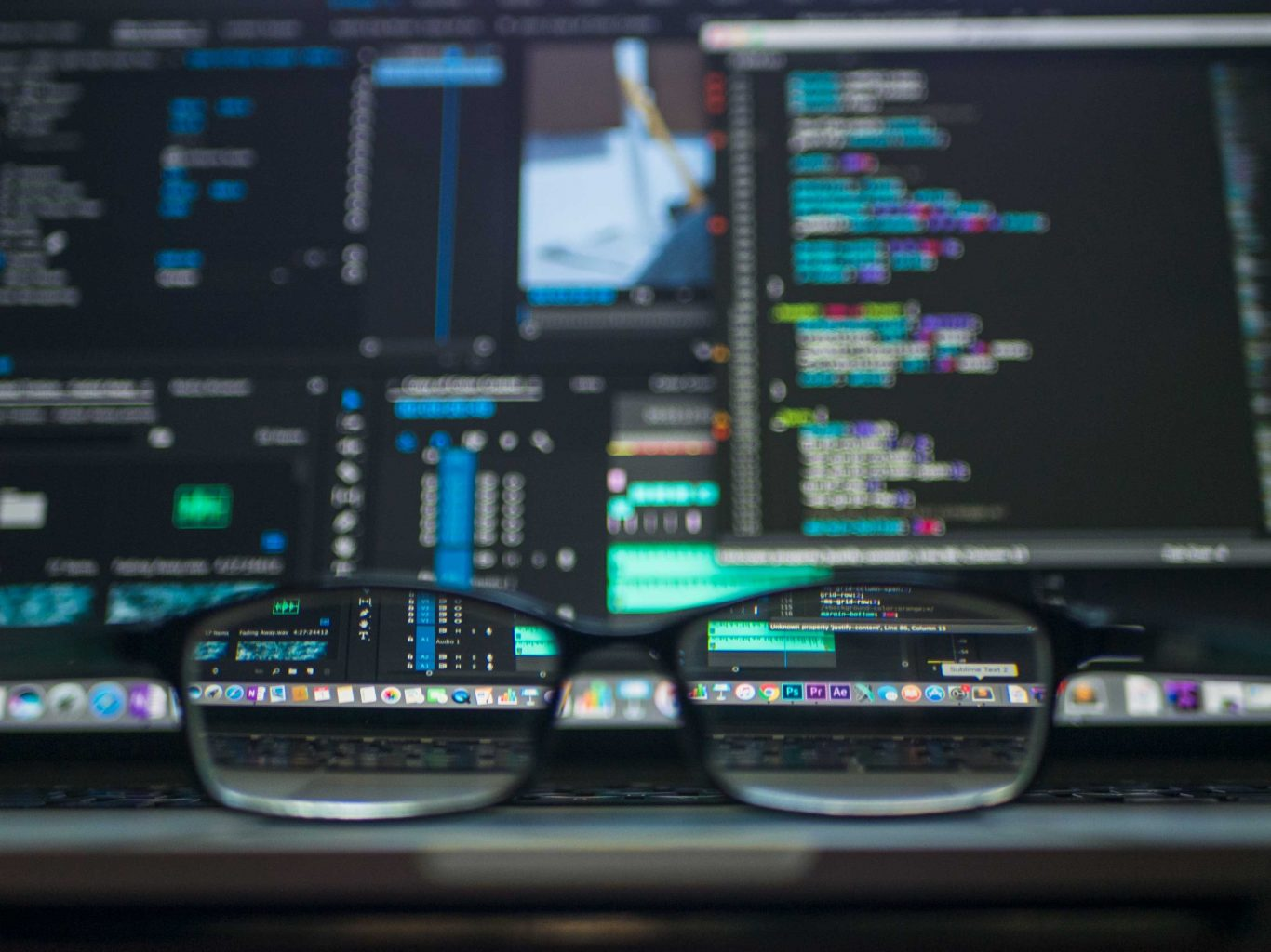 Seeing software clearly glasses Photo by Kevin Ku on Unsplash