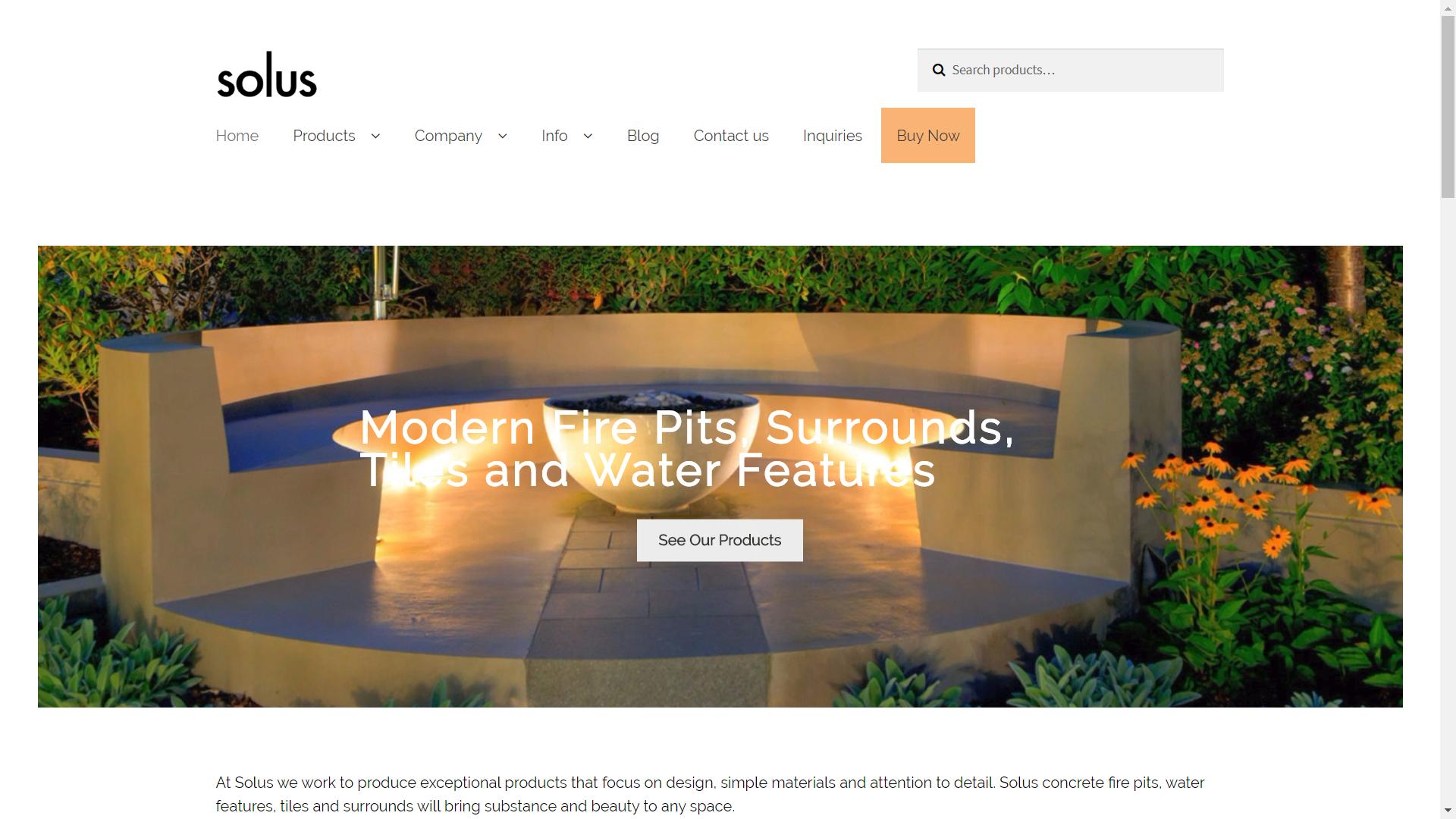 Solus Decor Firepit Websites