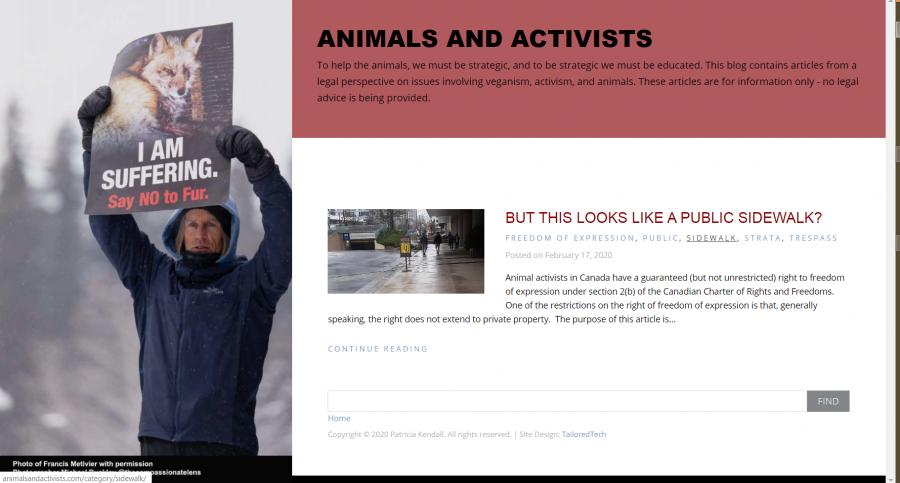 Animals and Activists - Legal Magazine Site