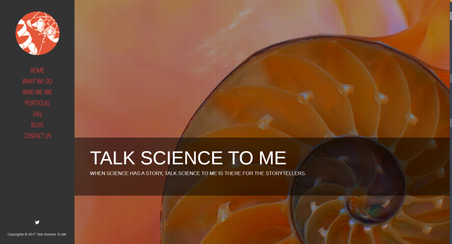 Talk Science to Me ModX Website