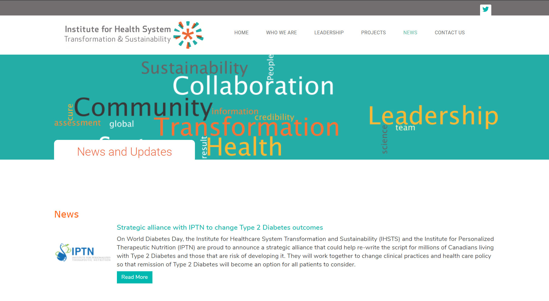 IHSTS News Page
